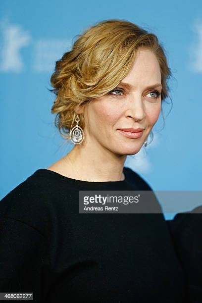 Uma Thurman attends the 'Nymphomaniac Volume I' photocall during 64th Berlinale International Film Festival at Grand Hyatt Hotel on February 9 2014...
