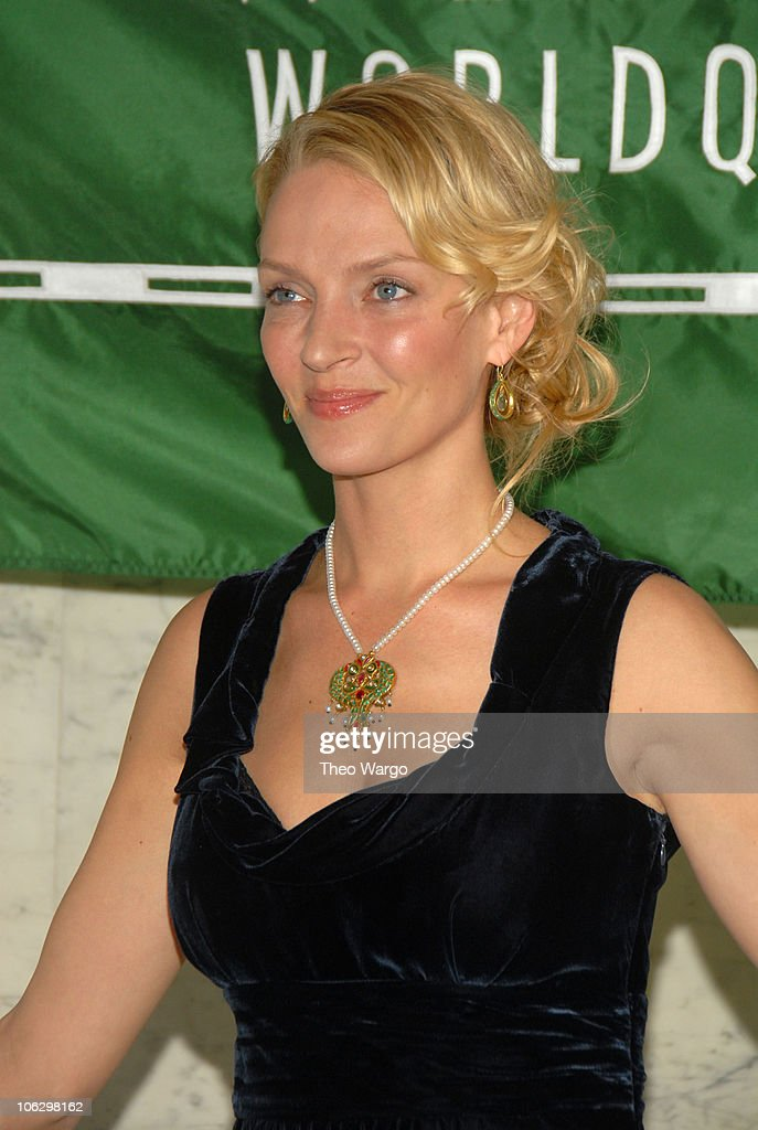 Uma Thurman during 2007 Wings WorldQuest Woman of Discovery Presentation at Cipriani in New York City, New York, United States.