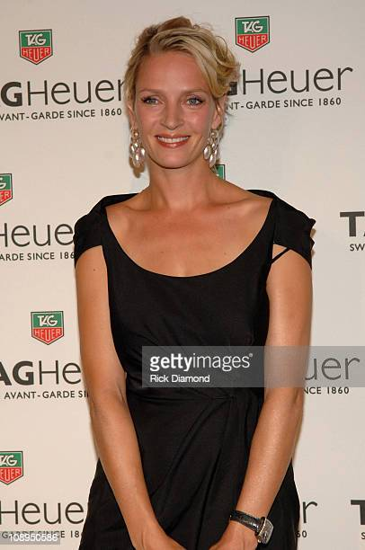 Uma Thurman during Tag Heuer Party to Celebrate Women and Unsem - Arrivals - September 12, 2006 at The Royalton in New York City, New York, United...