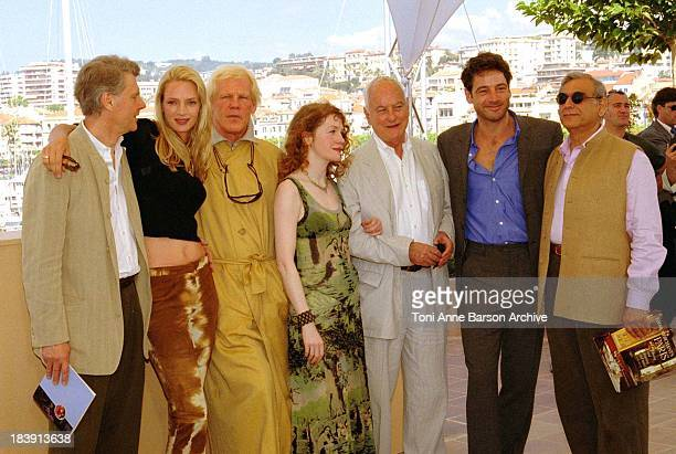 Uma Thurman Nick Nolte James Ivory Jeremy Northam