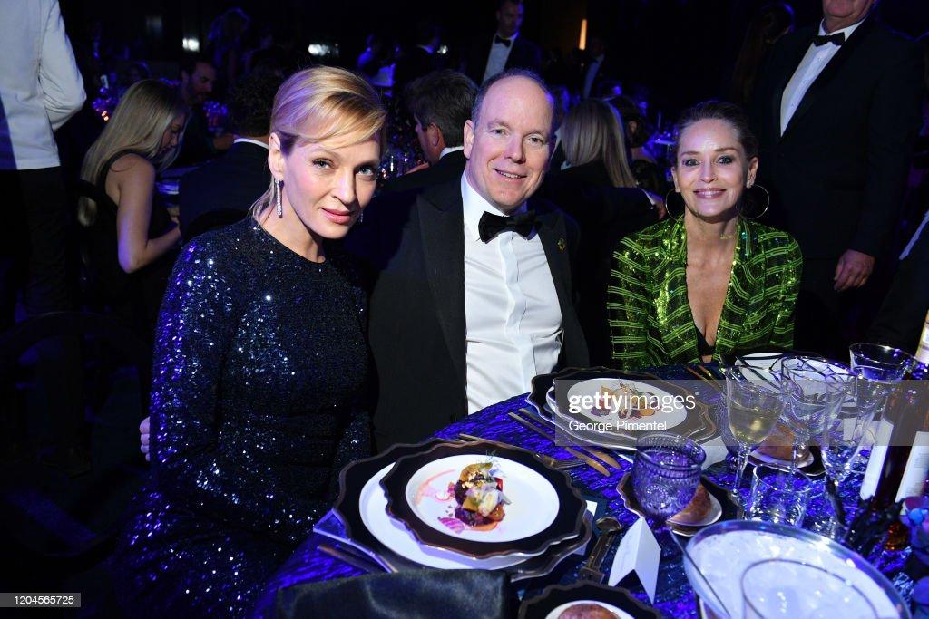 2020 Hollywood For The Global Ocean Gala Honoring HSH Prince Albert II Of Monaco - Inside : News Photo