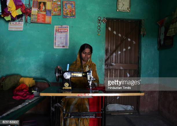 Uma Virajdar works as a tailor to support her family of five after her husband Subhash who worked as a waiter in Pune died due to AIDS He tested...