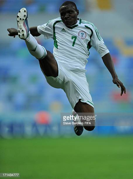 Umar Aminu of Nigeria in action during the FIFA U20 World Cup Group B match between Cuba and Nigeria at Kadir Has Stadium on June 24 2013 in Kayseri...
