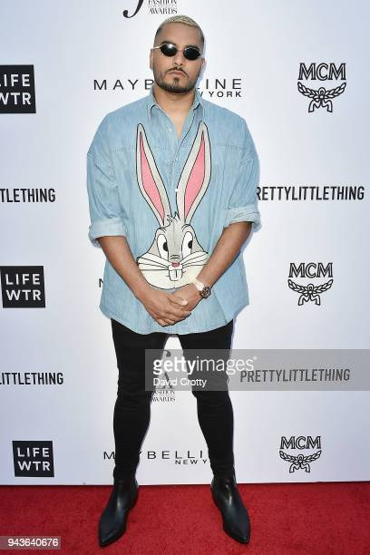 Umar Kamani attends The Daily Front Row's 4th Annual Fashion Los Angeles Awards Arrivals at The Beverly Hills Hotel on April 8 2018 in Beverly Hills...
