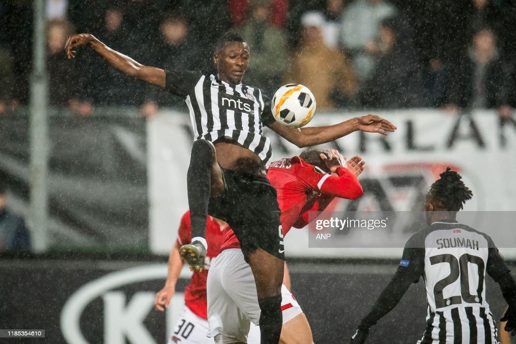 "UEFA Europa League""AZ Alkmaar v FK Partizan"" : News Photo"