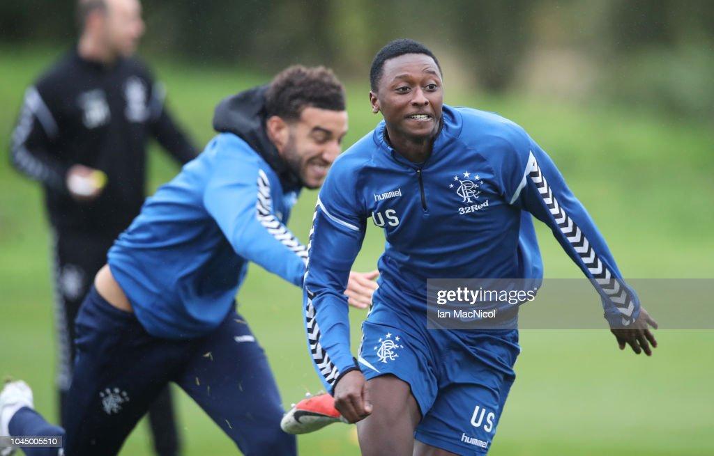 Rangers Training Session : News Photo