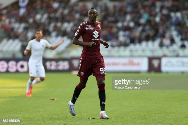 Umar Sadiq of Torino FC in action during the Serie A football match between Torino Fc and As Roma As Roma wins 10 over Torino Fc