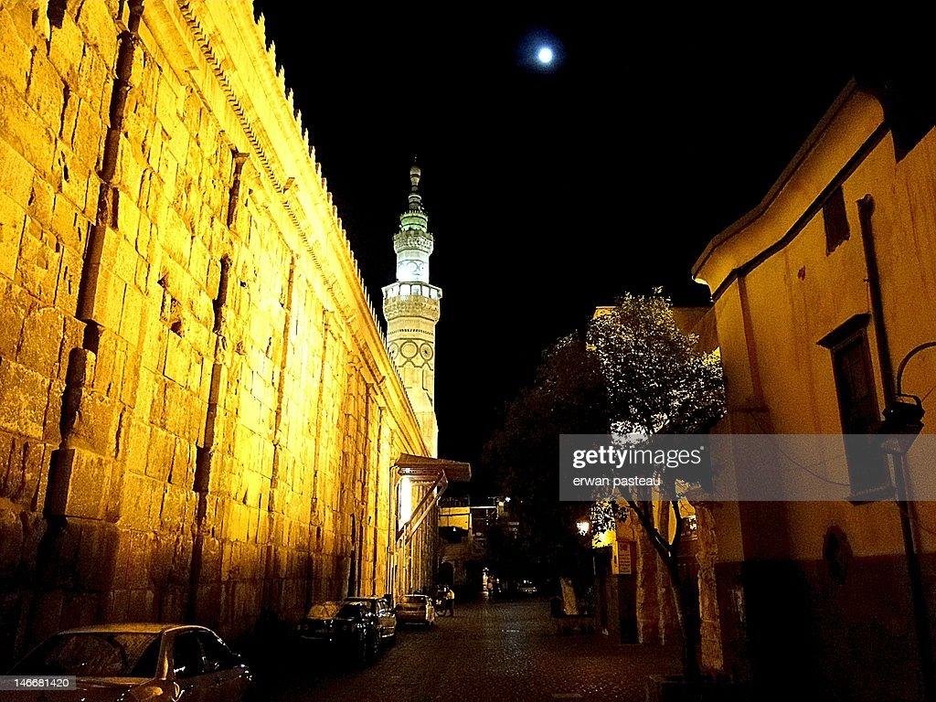 Umayyad mosque, damascus : Stockfoto