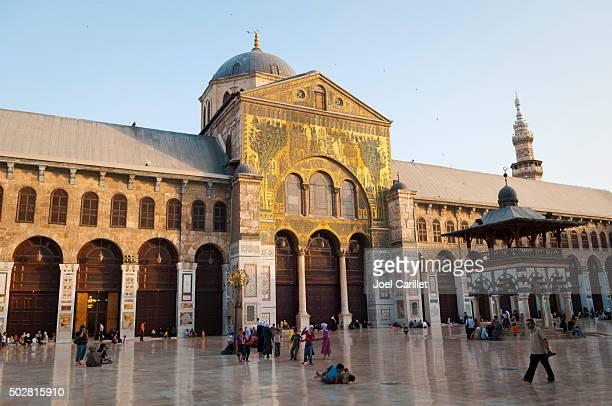 Mosquée des Omeyades à Damascus, Syrie