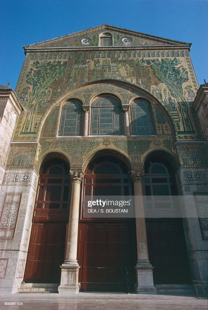 Umayyad Mosque, Ancient City of Damascus : News Photo