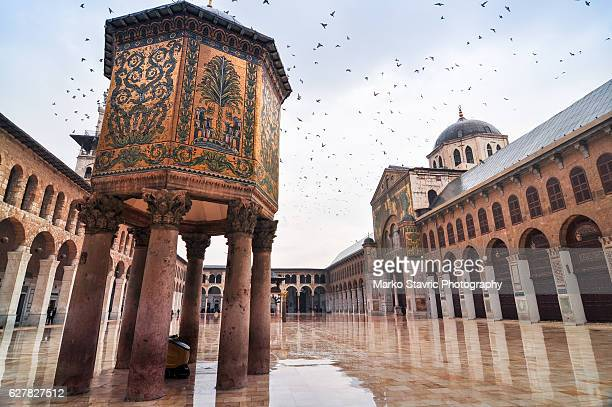umayyad mosque - damascus stock pictures, royalty-free photos & images