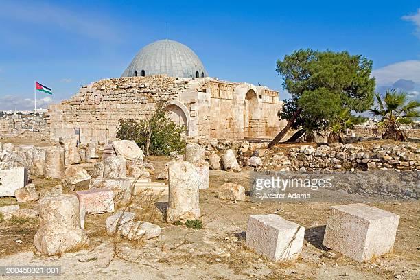 Umayyad palace ruins at the Citadel