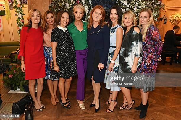Umberta Beretta, Magda Pozzo, Warly Tomei, Tamara Beckwith, Sarah Ferguson, Duchess of York, Josephine Daniel, Mika Simmons and Astrid Harbord attend...