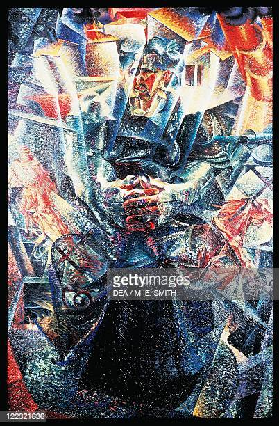 Umberto Boccioni Materia oil on canvas