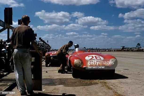 Umberto Maglioli Ferrari 750 Monza 12 Hours of Sebring Sebring 13 March 1955