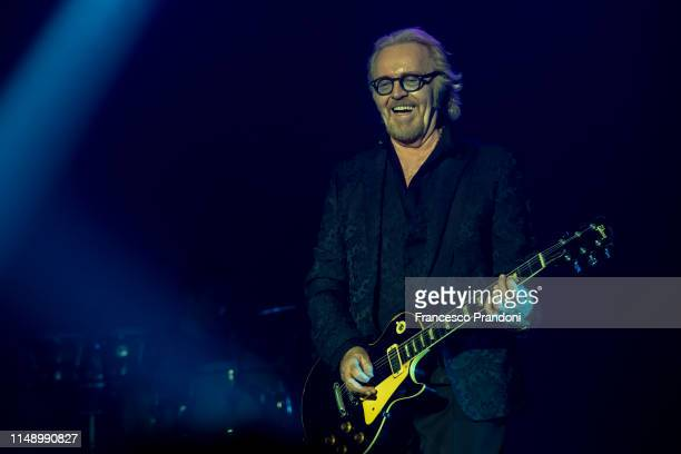 Umberto Tozzi of Raf Tozzi performs at Mediolanum Forum on May 13, 2019 in Milan, Italy.