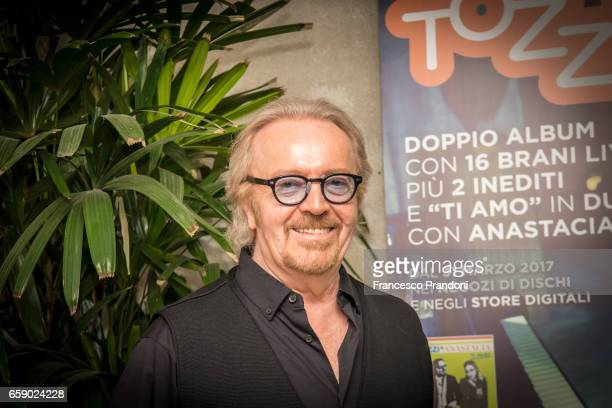 Umberto Tozzi Press Conference at Mimmo on March 28, 2017 in Milan, Italy.