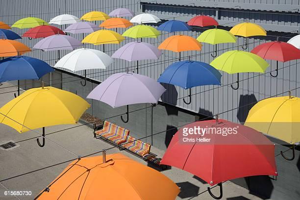 Umbrella Installation Art