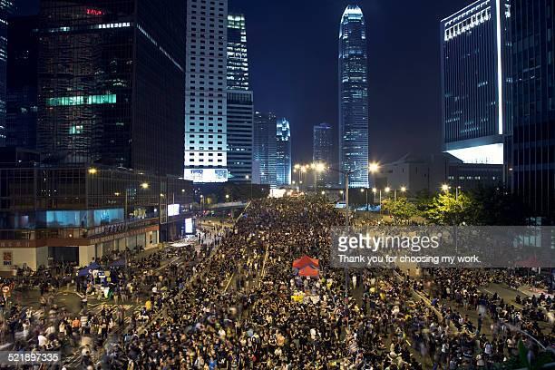 umbrella movement - hong kong protest 個照片及圖片檔