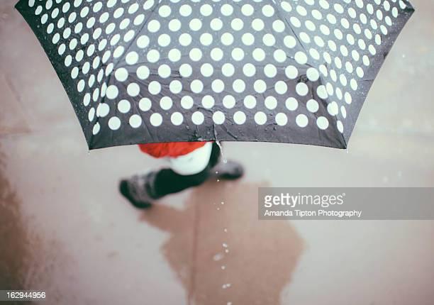 umbrella on a rainyday