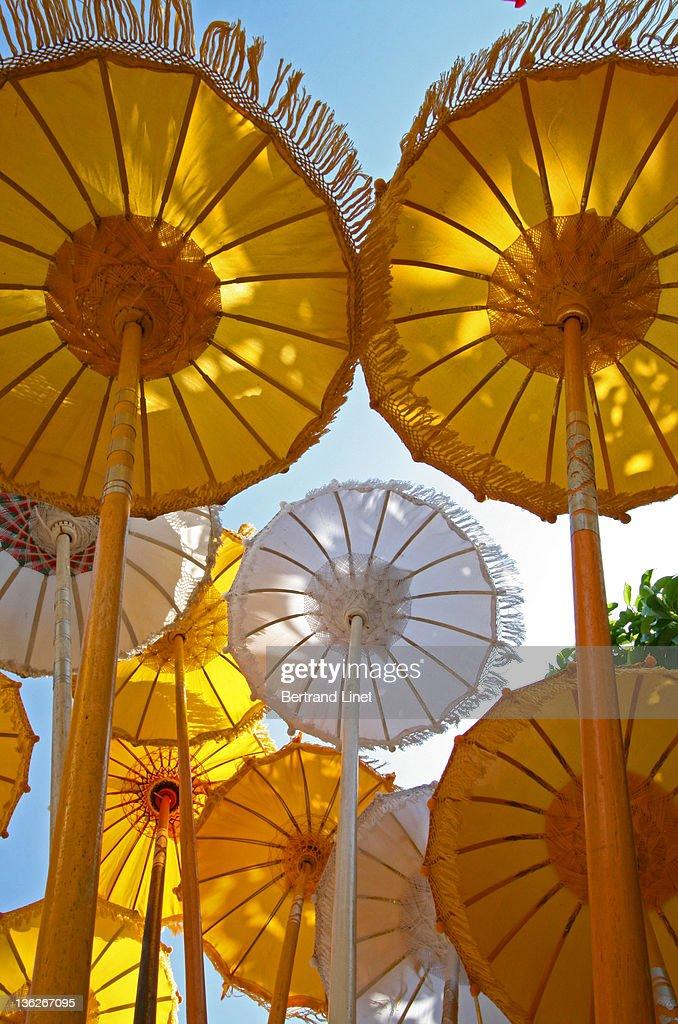 Umbrellas of Bali : Foto de stock