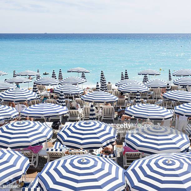 Umbrellas on the French Riviera