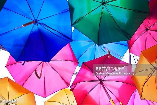 umbrellas - borough market - fotografias e filmes do acervo