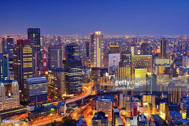 Umeda Sky Building in blue hour