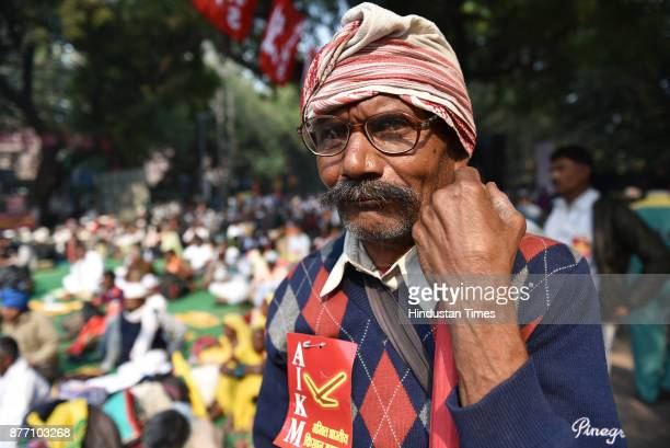 Umesh Rai from Vaishali District Bihar came to Jantar Mantar to become a part of demonstration in support of their various long pending demands at...