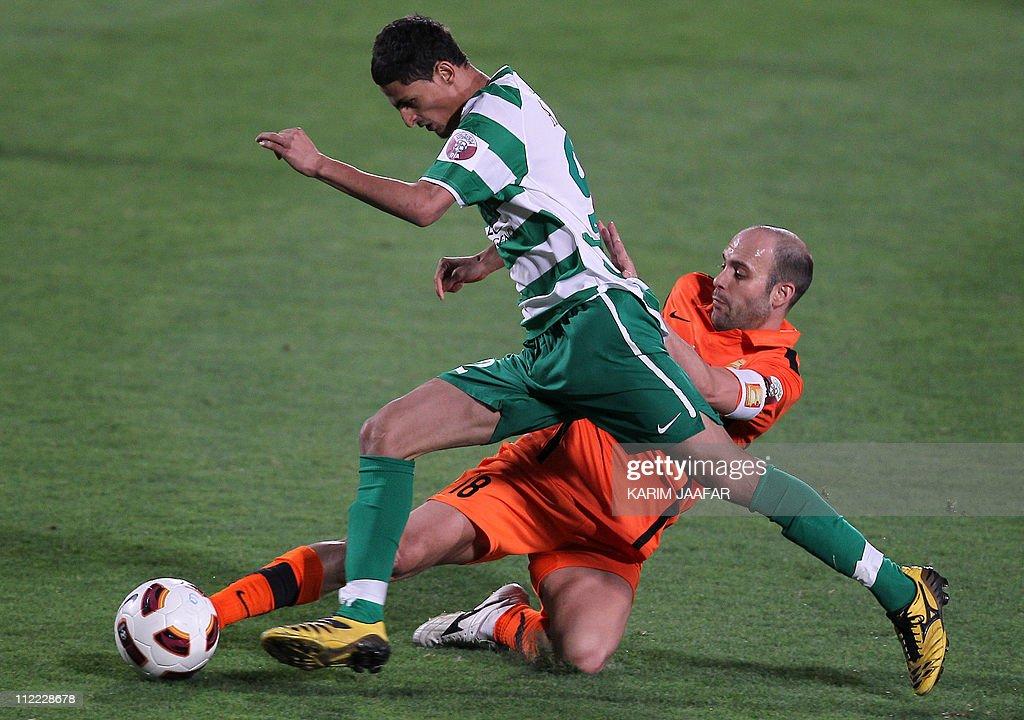 Umm Salal's Spanish midfielder Gabri Gar : News Photo