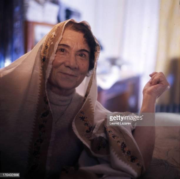 Umma Muratovna the granddaughter of Avar leader Hadji Murad Moscow 1978