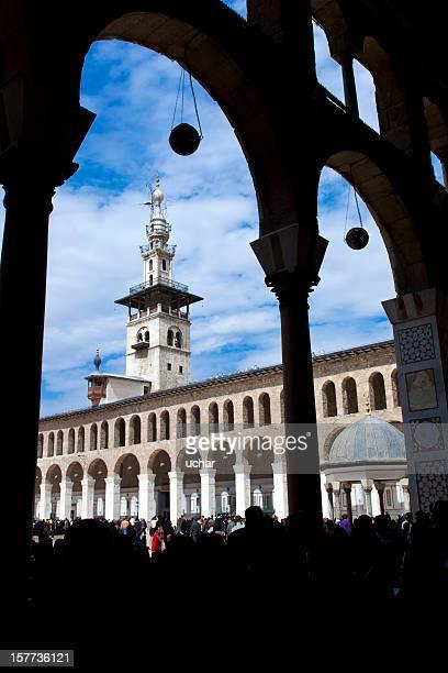 Mosquée Ummayad à Damascus, Syrie
