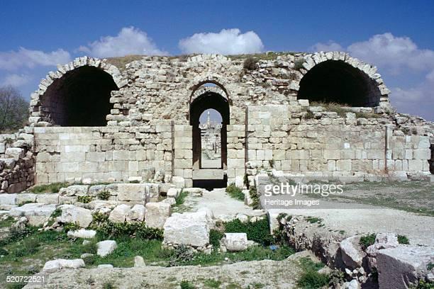 Ummayyad Palace Amman Jordan The palace was built in the 8th century during the reign of the Ummayyad Caliph Hisham ibn Abd alMalik