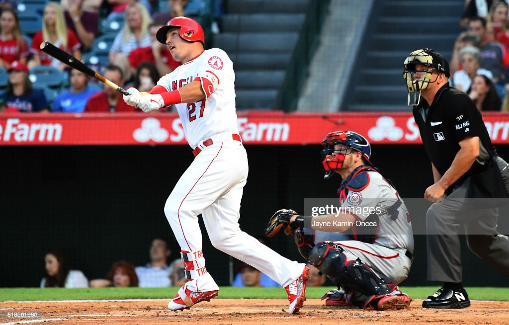 Washington Nationals v Los Angeles Angels of Anaheim