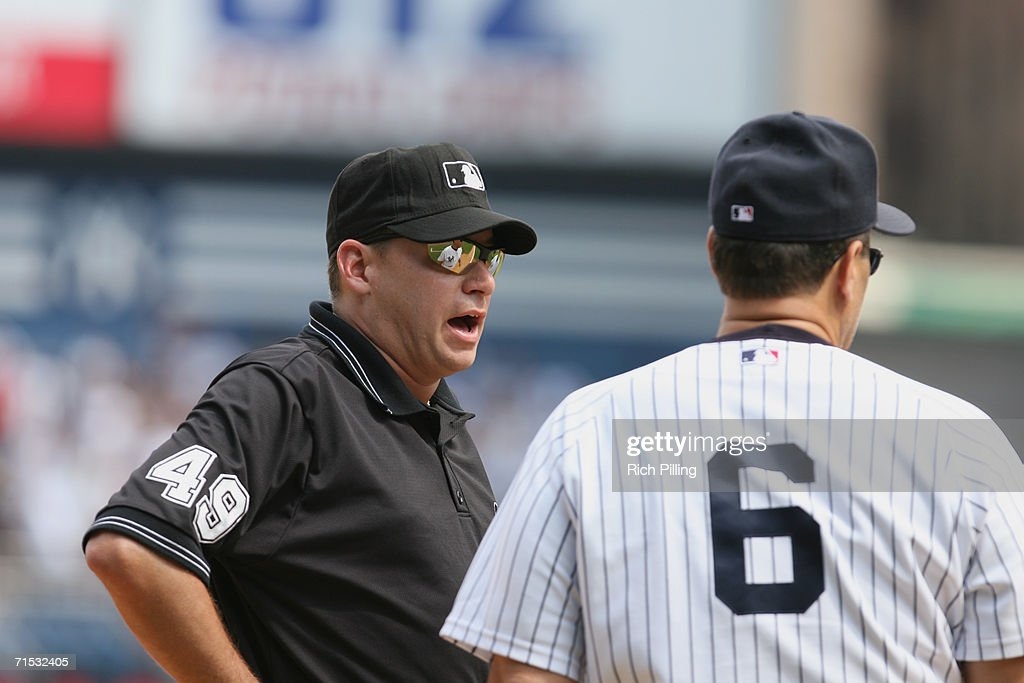 888741089b3 MLB umpire Mike Reilly during the game against the New York Yankees ...