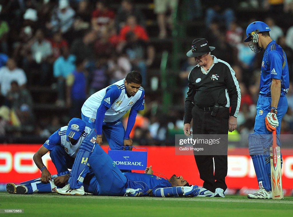 Mumbai Indians v Highveld Lions - 2010 Champions League Twenty20