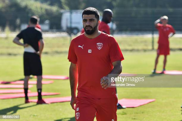 Umut Bozok of Nimes during the Training Session of Nimes on June 27 2018 in Nimes France