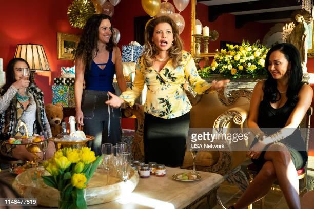 "Un Asunto de Familia"" Episode 402 -- Pictured: Alice Braga as Teresa Mendoza, Justina Machado as Brenda --"