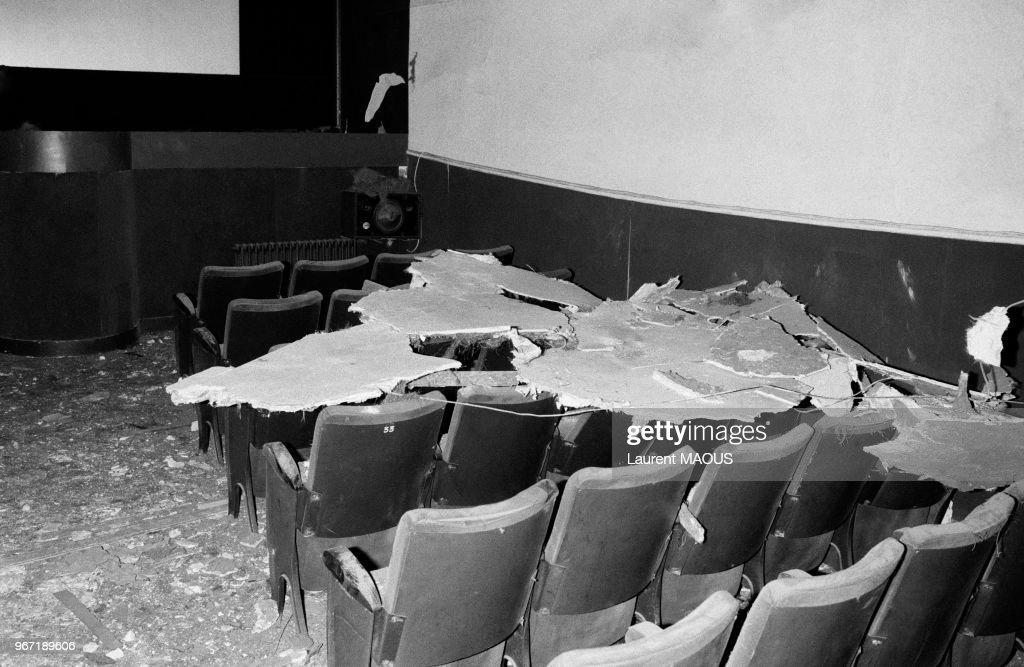 Attentat anti-sémite contre un cinéma à Paris : Photo d'actualité