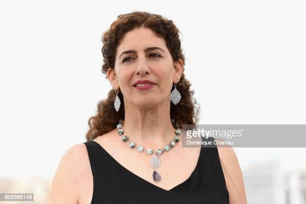 Un Certain Regard jury member Annemarie Jacir attends the Jury Un Certain Regard photocall during the 71st annual Cannes Film Festival at Palais des...