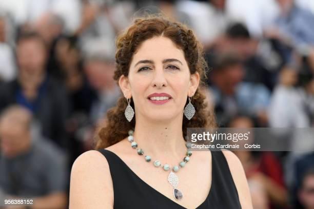 Un Certain Regard jury member Annemarie Jacir attends the Jury Un Certain Regard photocall during the 71st annual Cannes Film Festival at Palais des...