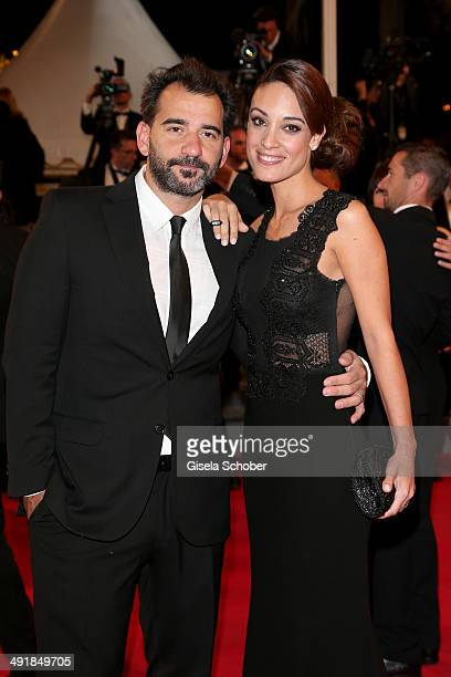 Un Certain Regard jury member Pablo Trapero and his wife actress and producer Martina Gusman attend the Premiere of 'Savage Tales' at the 67th Annual...