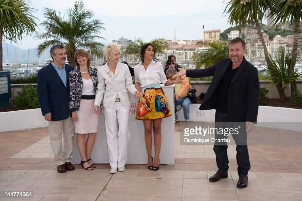 Un Certain Regard Jury members Luciano Monteagudo Sylvie Pras Tonie Marshall Leila Bekhti and Jury President Tim Roth attend the Un Certain Regard...