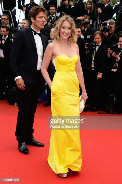 Un Certain Regard jury members Ludivine Sagnier and Thomas Vinterberg attend 'The Bling Ring' premiere during The 66th Annual Cannes Film Festival at...