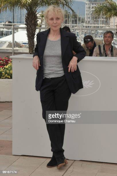 Un Certain Regard Jury President Claire Denis attends the Un Certain Regard Jury Photocall held at the Palais Des Festivals during the 63rd Annual...