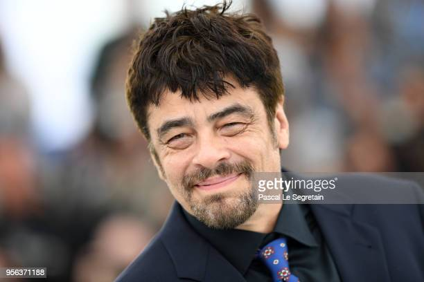 Un Certain Regard president Benicio Del Toro attends the Jury Un Certain Regard photocall during the 71st annual Cannes Film Festival at Palais des...