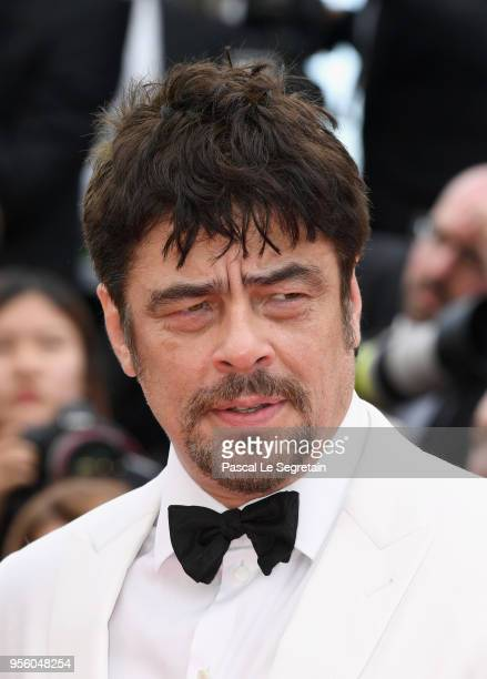 Un Certain Regard president Benicio Del Toro attends the screening of Everybody Knows and the opening gala during the 71st annual Cannes Film...
