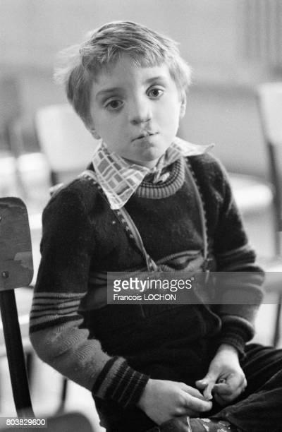 Un enfant de la famille Jung victime du talc Morhange le 22 octobre 1979 à CharlevilleMézières France