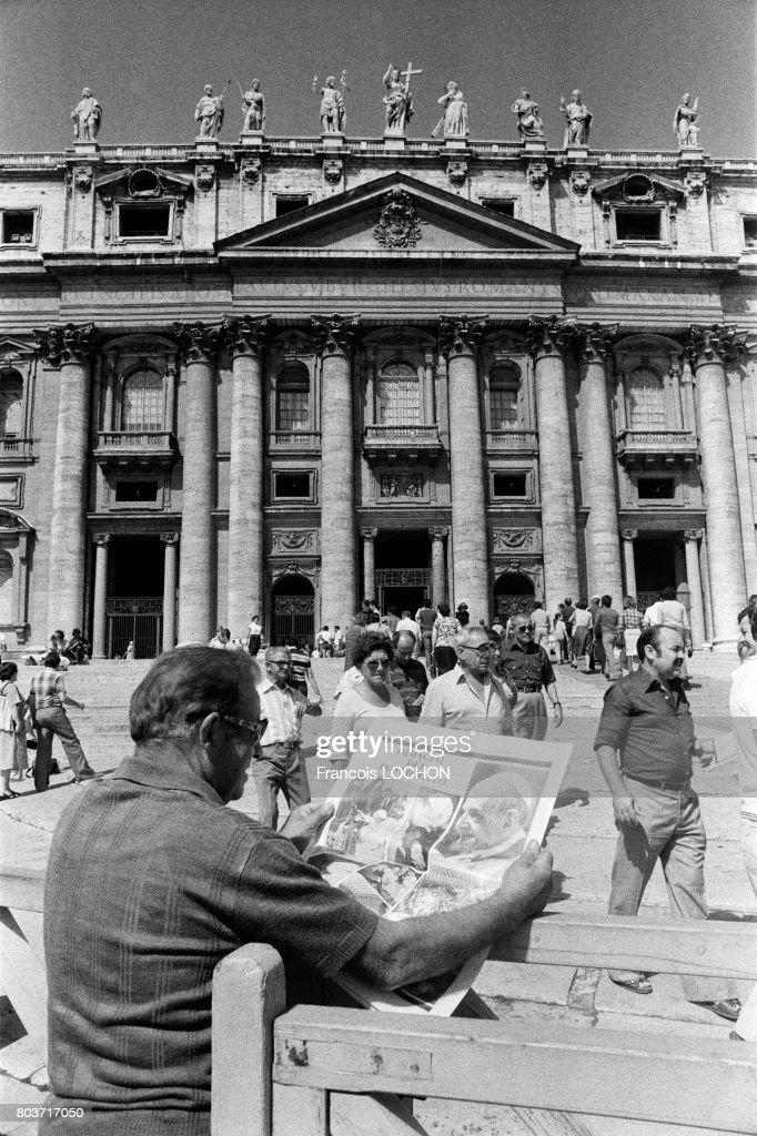 Mort du Pape Paul VI en 1978 : News Photo