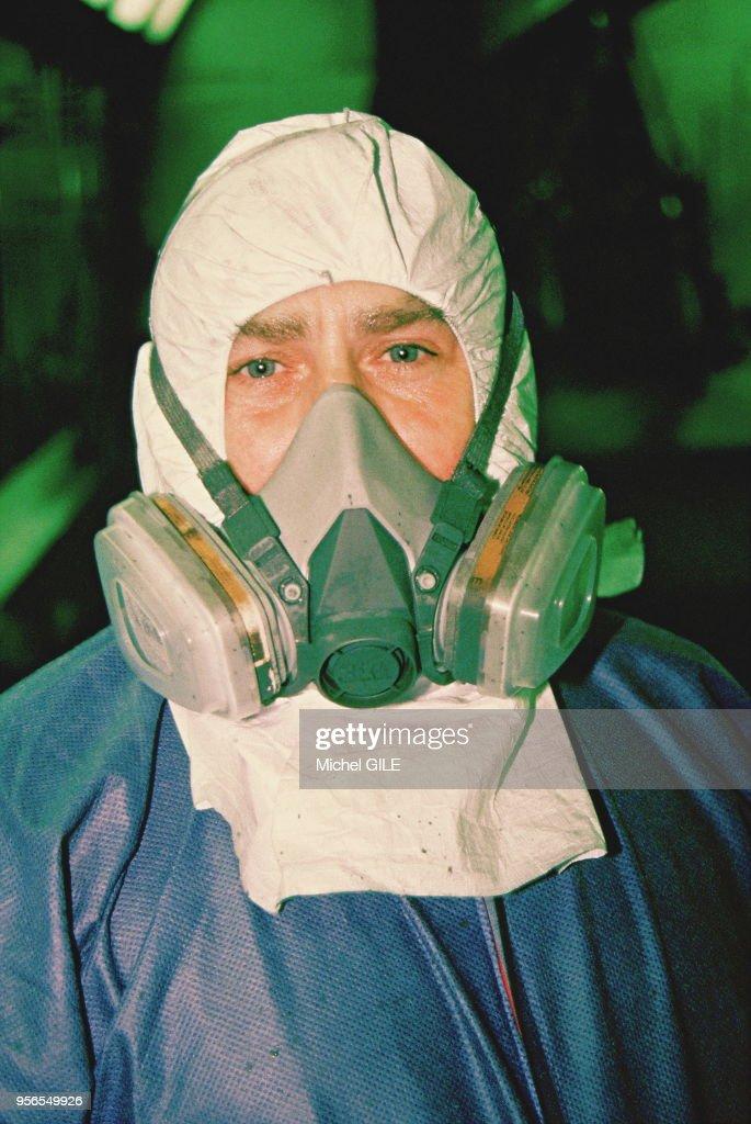 un masque respiratoire